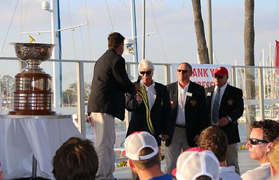 Con Cup Trophy Ceremony