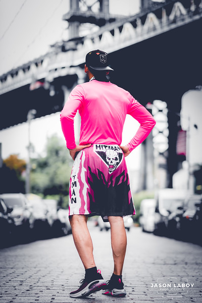 Chalkline Bret Hart Shorts