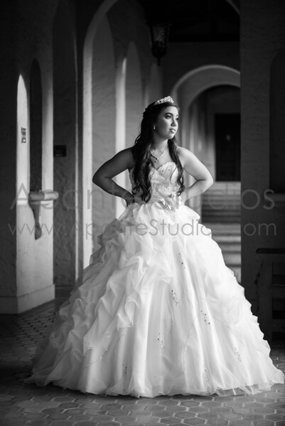 Olivia's pre-quince session