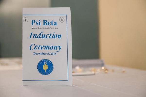Psi Beta Ceremony