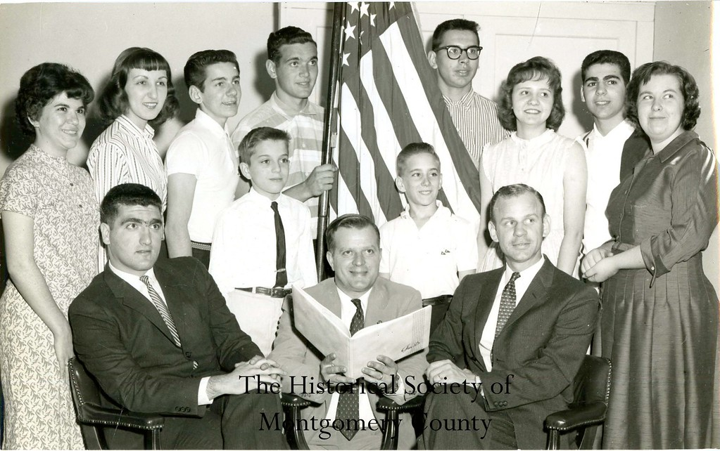 ". This photo from the Historical Society of Montgomery says ""V.F. \'Students for Loyalty\'\"" on the back of it. There is no date, but the Historical Society believes it is from the 1950s."