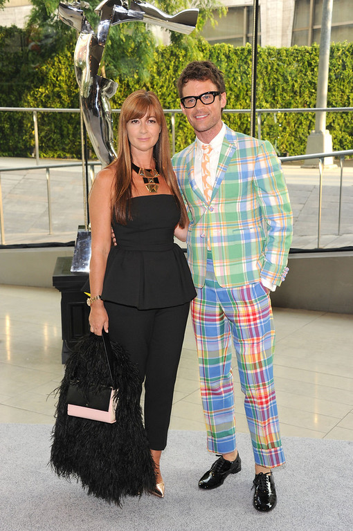 . Brad Goreski (R) attends the 2013 CFDA Fashion Awards on June 3, 2013 in New York, United States.  (Photo by Jamie McCarthy/Getty Images)