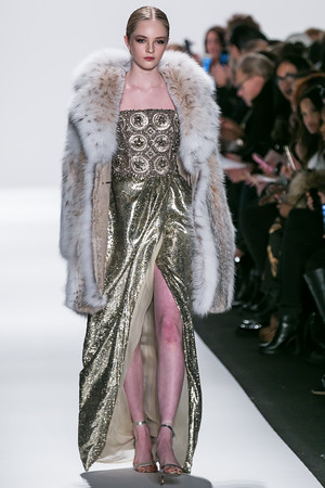 Mercedes Benz Fashion Week Dennis Basso Fall 2015 Collection
