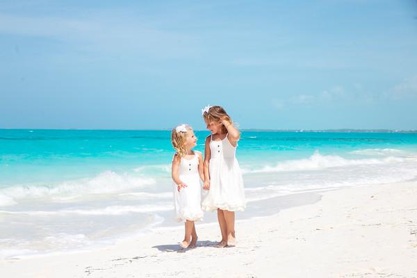 Toye Mitchell's Family, Vacation Photos. Exuma, Bahamas.