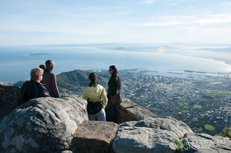 Table Mountain Views over Cape Town, South Africa