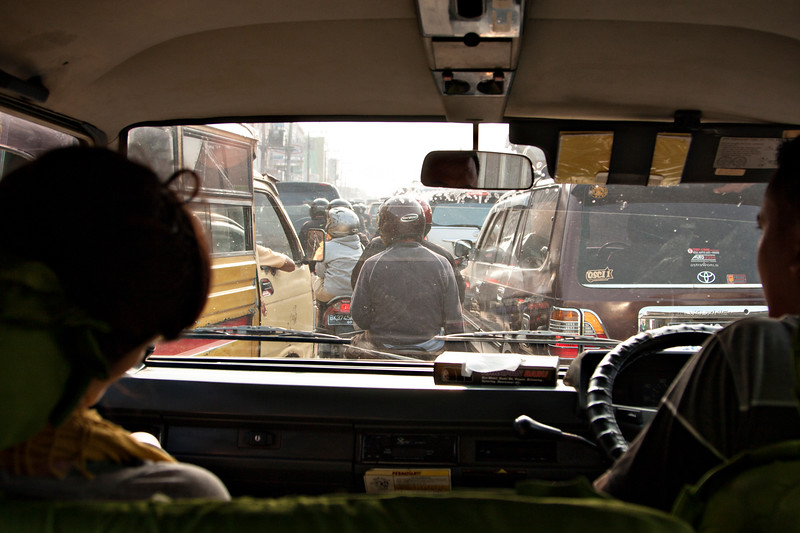 Indonesian traffic!