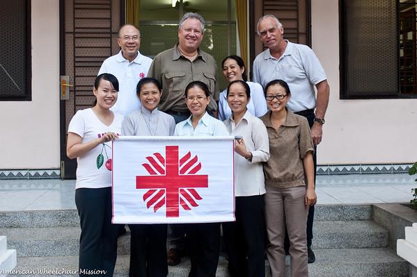Friday: Closing Meeting at Caritas Saigon