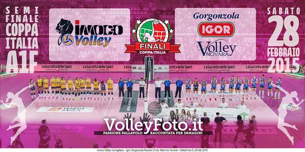 SEMIFINALE: Imoco Volley Conegliano - Igor Gorgonzola Novara