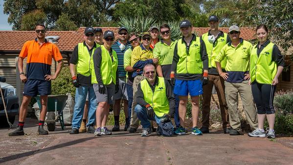 Garden renovation Karrinyup  - Mirvac Annual Help Day