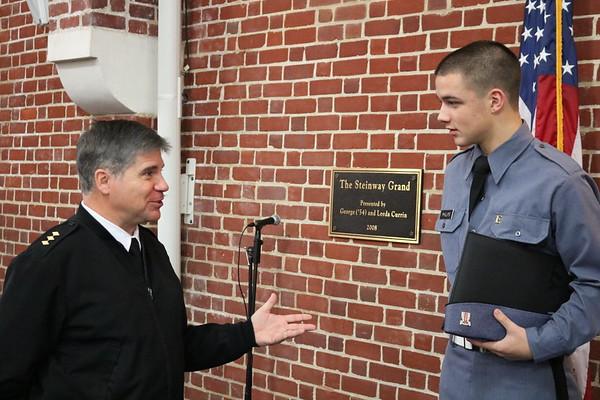 Alum Andrew Phillips VA Tech Cadet Visits FUMA