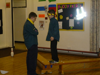 Scout Troop Night - January 2012