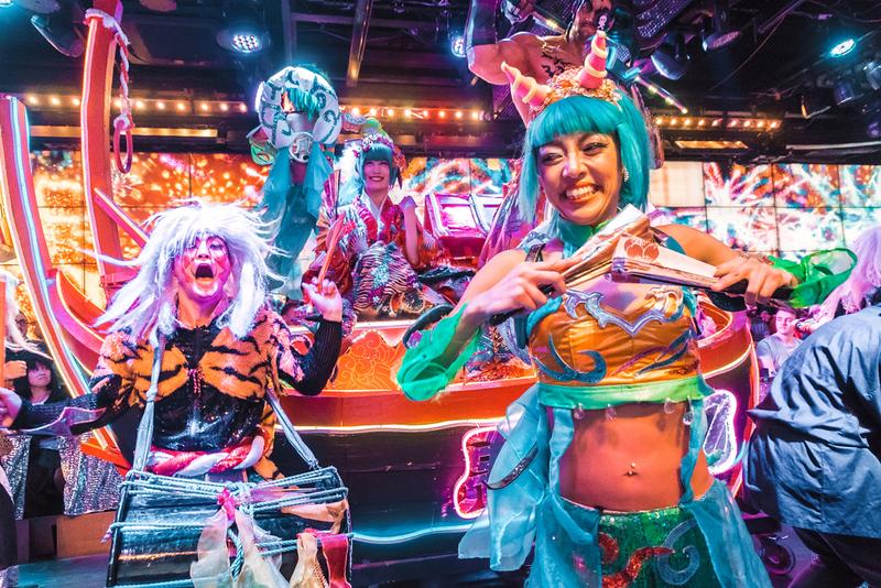 Robot Restaurant. Editorial credit: Swedishnomad.com - Alex W / Shutterstock.com