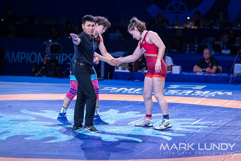3rd Place Match: Paliha Paliha (China) over Victoria Christine Francis (United States)  •  Dec 2-1 - 2019 World Championships