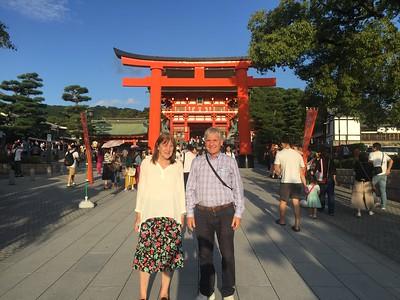 Kyoto ---Fushuni Inari Taisha Shrine