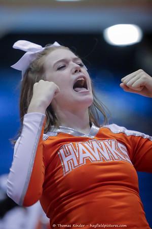 Varsity Cheer at Gunston Semi-Finals 10/10/17
