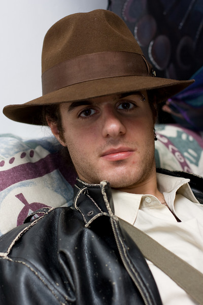 Alex as Indiana Jones.