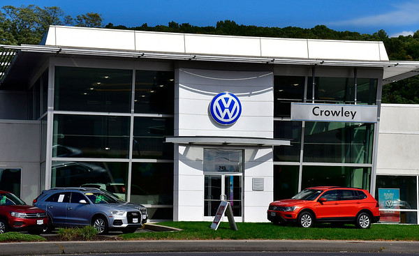 10/10/2018 Mike Orazzi | Staff Crowley Volkswagen in Plainville.