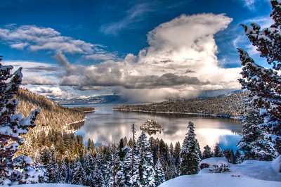 Emerald Bay Winter Scenes