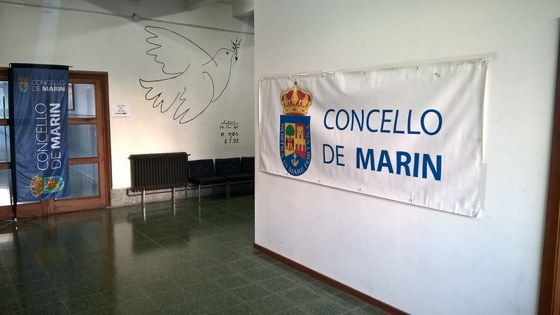 CONCELLO DE MARIN CONCELLO 10 DE MARINE 29.12.61 e nós 8.7.93 NOSTRA ORTVNA CONCELLO DE MARIN