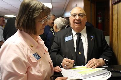 PGM Robert T. Shipe 50 yr pin Midwest City Lodge #532
