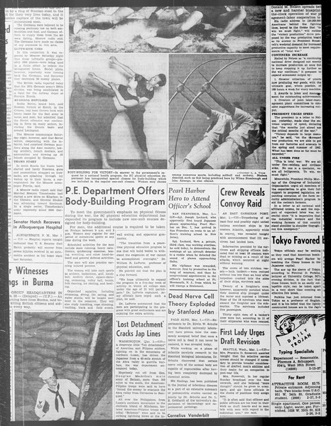Daily Trojan, Vol. 33, No. 82, January 08, 1942