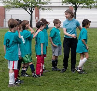 Spring Soccer, May 2006