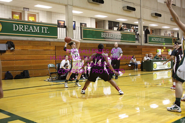 2011-12 KISWAUKEE COLLEGE WOMENS BASKETBALL vs SAUK VALLEY
