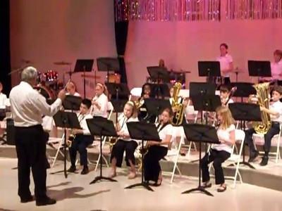 Alice 5th grade band concert