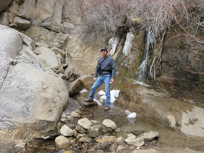 Sandia Mtns. - Embudo Canyon  1-24-08