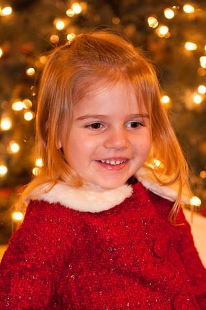 Fiona & Marlowe Christmas 2009