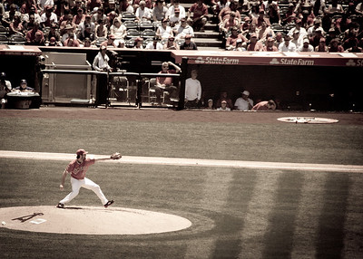Pitcher Dan Haren of the Angels