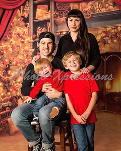 The Desmuke-Bell family Christmas 2017