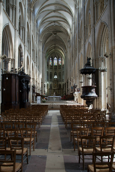 Normandy, Eu Collegial Notre-Dame and Saint-Lawrence Nave and Choir