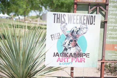Jackalope Art April 2016