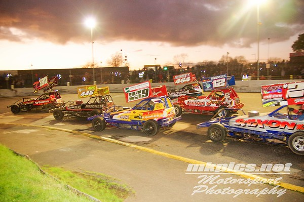 BriSCA F1 Stockcars, Northampton 29 October 2017