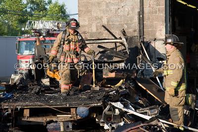 Camper Fire (Buffalo, NY) 7/13/09