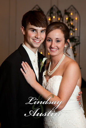 Lindsay and Austin's wedding book