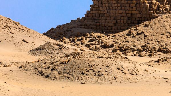 Nur noch Reste: Nu 20 Atlanersa, Nuri, Sudan