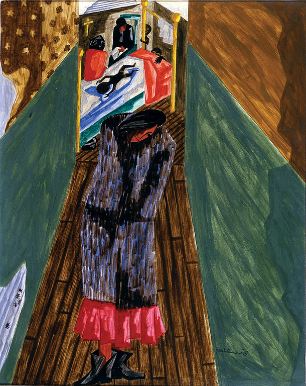 "Jacob Lawrence, ""Birth"" (1948)"