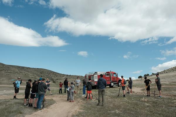 Manti Skyridge Trail Day