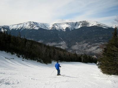 Skiing, Wildcat, March 2009