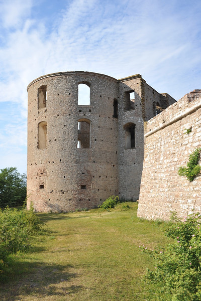 In the island of Öland, Sweden, in the Baltic sea. The Swedish royal family has its Summer mansion close to this castle ruin of Borgholm.