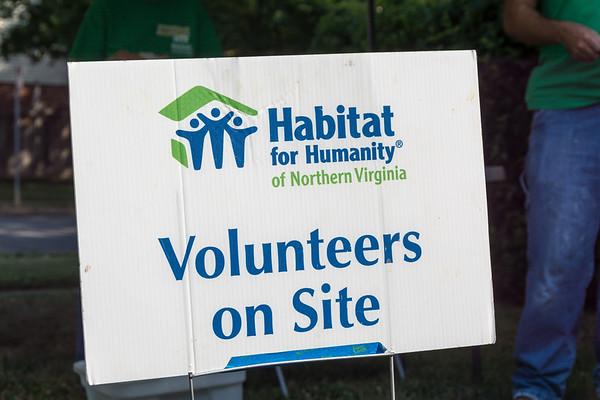 NoVA Habitat Build 2016