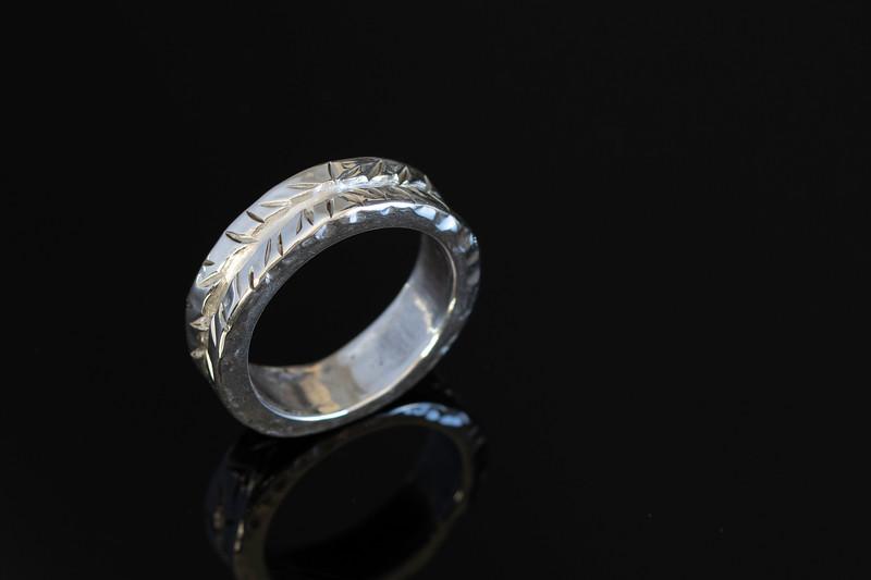 No.19 silver ring