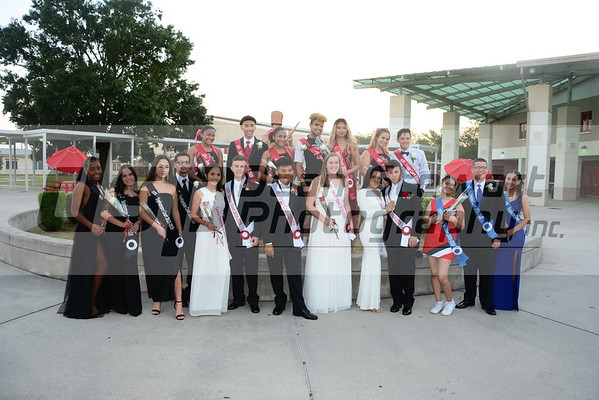 Homecoming Court 10*05*18