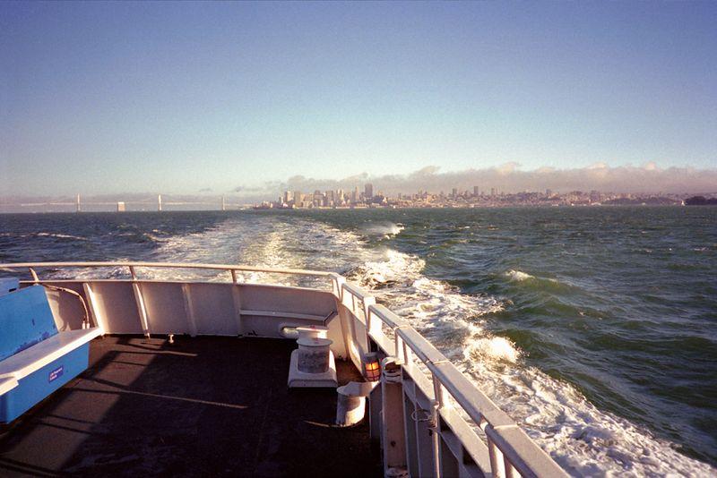 San Francisco - San Quentin ferry