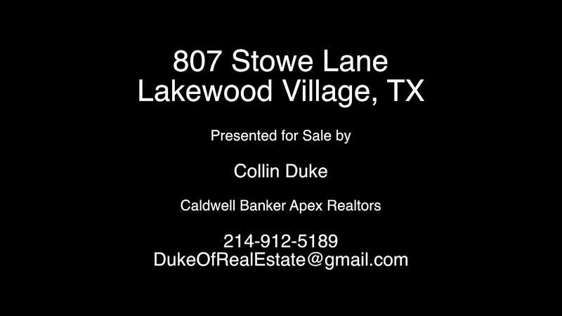807 Stowe Lane - Lakewood Village