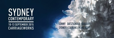 Sydney CONTEMPORY   10 - 13 September 2015   Stand # F05   Art Fair   Invitation