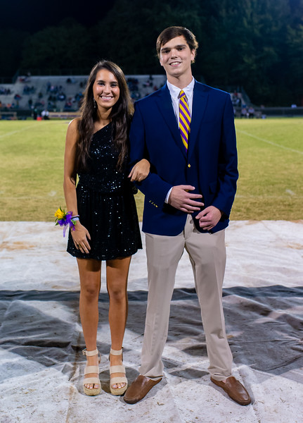 Broughton football vs Enloe. Homecoming. October 10, 2019. D4S_0387