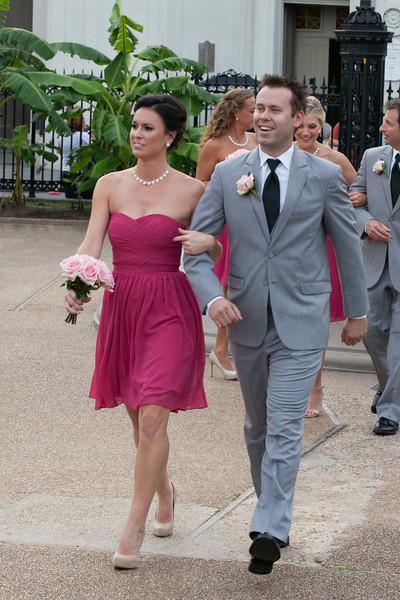 Phillip Katie After Ceremony
